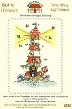 BOTHY THREADS SEW DINKY LIGHTHOUSE COUNTED CROSS STITCH KIT 15x20cm NEW MAY 2014