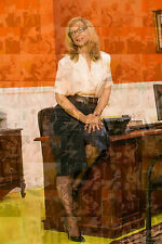 NINA HARTLEY photo mosaic cm. 30x41 poster with hundreds of sexy pics
