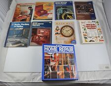 Lot 9 Home Repair Books Magazines Time Life Woodworker Wiring Techniques DD5B2
