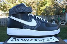 DS NIKE AIR FORCE 1 PREMIUM ZF HIGH HI 9 349384 001 ZOOM  SPNY STASH FAT CAPS