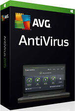 AVG AntiVirus Version 2016 for 2 PCs or Laptops & for 1 Year. CLEARANCE SALE
