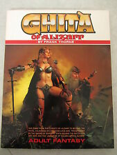 Ghita of Alizarr By Frank Thorne Adult Graphic Novel (1983) Blue Dolphin