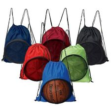 Volleyball Soccer Basketball Sport Backpack Bag - 6PC SET (Assorted Color)