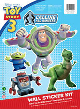 Disney Children's / Kids Toy Story 3 Wall Stickers - Buzz Lightyear