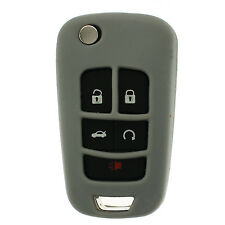 Grey GM Flip Key Protective Silicone Case cover