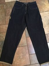 "Men's ""Mo"" Maurice Malone Baggy Carpenter Jeans Sz 34 Inseam 34 Euc"