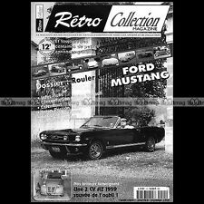 RETRO COLLECTION N°15 ★ FORD MUSTANG CABRIOLET 1966 ★