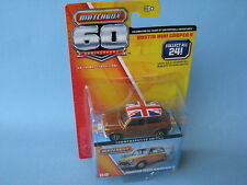 Matchbox 60th Anniversary 1964 Austin Mini Cooper S Gold Body Toy Model Car 60mm