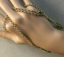 9 ct GOLD second hand long round link belcher chain