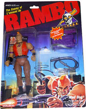RAMBO - S.A.V.A.G.E. - The Enemy of Rambo - Mad Dog - New! Mint On Sealed Card!!