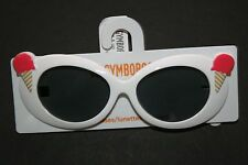 New Gymboree Outlet White Ice Cream Cone Sunglasses 4 & Up NWT Ice Cream Parlor