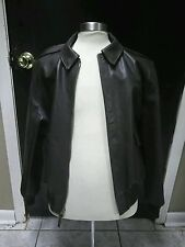 A-2 leather flight jacket dark brown Gibson and Barnes 42R