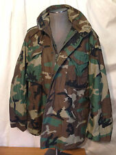 Vintage Original US Army Camouflage M-65 Field Jacket L Made in USA MINT cond