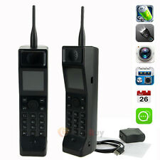 Classic Old Vintage Brick Cell Phone Black Retro Mobile Phone Camera FM radio
