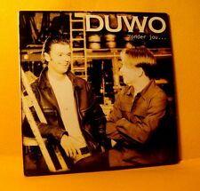 Cardsleeve Single cd Duwo Zonder jou 2TR 1998 dutch language