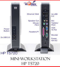 THINCLIENT MINI COMPUTER HP T5720 AMD 1500+ RS-232 398135-001 HSTNC-001L-TC LPT