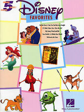 Disney Favourites Five Finger Piano Learn to Play EASY Piano Music Book