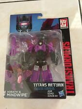 Transformers Titans Return Vorath & Mindwipe NEW