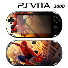 Vinyl Decal Skin Sticker for Sony PS Vita Slim 2000 Spiderman 2