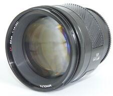 Minolta AF 85mm f/1.4 85mm f1.4 85/1.4 AF Lens for SONY A /MINOLTA DSLR/SLR