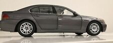 Rare Kyosho BMW 7 Series 745i Dk Grey 1:18 Scale Die Cast Metal Model Auto Car