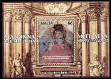 MALTA MNH 1999 Mellieha Sanctuary M/S