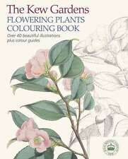 The Kew Gardens Flowering Plants Colouring Book,Arcturus Publishing,New Book mon
