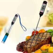 Digital Kitchen Cooking Food Meat Electronic LCD Probe BBQ Thermometer Gauge