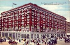 FORT CUMBERLAND HOTEL, Cumberland, MD. One of America's newest on Nat'l Highway
