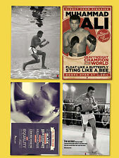 Muhammad Ali Poster FOUR BOXING LEGEND POET THE GREATEST LICENSED POSTERS