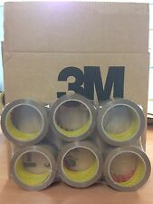 72 ROLLS 3M SCOTCH BUFF / BROWN PACKAGING / PACKING TAPE 48MM X 66M FREE 24H