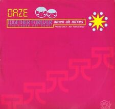 "DAZE together forever XPR 3257 promo uk epic 1998 12"" PS EX/EX"