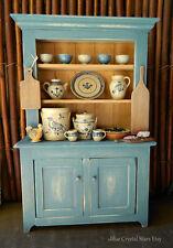 Jane Graber Cerámica Rústico Artesanal Hutch/armario para casa de muñecas en miniatura AJMAH
