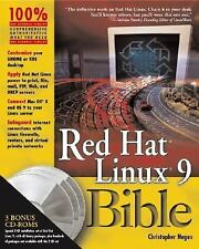 Bible Ser.: Red Hat® Linux® 9 Bible by Christopher Negus (2003, Paperback)