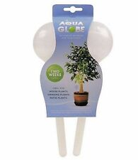 2 x Plant Watering Bulbs Aqua Globe Watering System For Plants Indoors/Outdoors