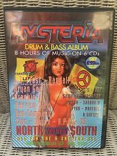 Hysteria volume 29 Drum n Bass 6x CD pack. Rare classic volume never been played