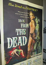 1957 BACK FROM THE DEAD One-Sheet Movie Poster FN- 27x41 57/397