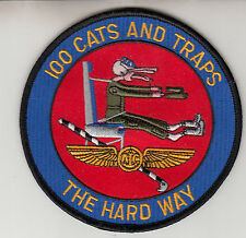 VRC-40 RAWHIDES 100 CATS AND TRAPS  THE HARD WAY PATCH
