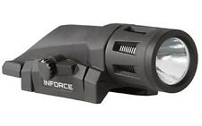 Inforce W-05-1 Weapon Light White LED 400 Lumens Picatinny Rail Mount Black