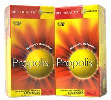 2 x Lot Bee Health Propolis Pastilles système immunitaire sain