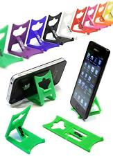 CELLULARE SMART PHONE HOLDER VERDE iClip Pieghevole Scrivania Viaggi Stand Rest: iPod MP3
