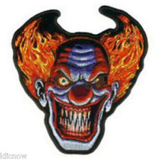 """ANGRY CLOWN EMBROIDERED PATCH 12 X 13CM (5"""" X 5"""")"""