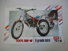 advertising Pubblicità 1988 MOTO APRILIA TXR 312 M