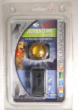 Adventure Lights Guardian Dog Light Yellow, Waterproof Hunting Collar Attachment