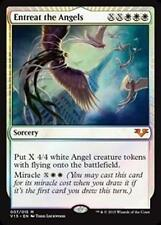 Foil ENTREAT THE ANGELS From the Vault: Angels MTG White Sorcery Rare