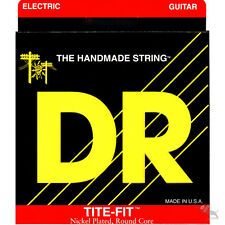DR Strings LT7-9 Tite Fit Lite Electric Guitar Set Rock Blues Jazz Metal 9-52
