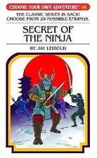 Secret of the Ninja (Choose Your Own Adventure #16)-ExLibrary