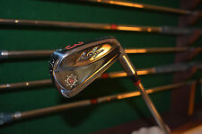 BEN HOGAN IRON SET - THE APEX 1999 1ST RUN FORGED MODEL WITH APEX 4 STEEL SHAFT