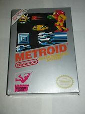 Metroid (Nintendo NES, 1986) NEW Factory Sealed SILVER
