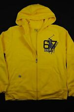 NEW RALPH LAUREN KIDS BOY Active Fleece Big Pony Hoodie Zip Sweatshirt Jacket L